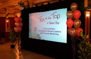 Ten at the Top in Tampa Bay Premiere Party - Intro Screen