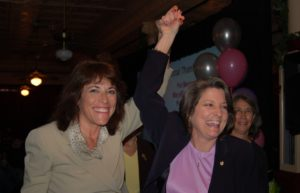 Ten at the Top in Tampa Bay Premiere Party - Renee Warmack and Fawn Germer