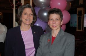 Ten at the Top in Tampa Bay Premiere Party - Renee with Postmaster