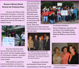 Hillsborough Community College - Ybor City Lamp Post Newsletter Article about Renee Warmack