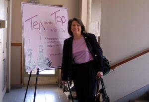 Renee Warmack at the Premiere Party for Ten at the Top in Tampa Bay