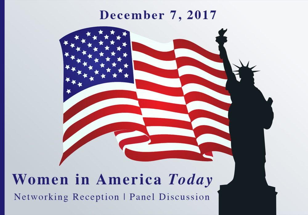 PRESS RELEASE – Women in America Today – December 7th