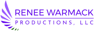 High resolution logo to download for Renee Warmack Productions