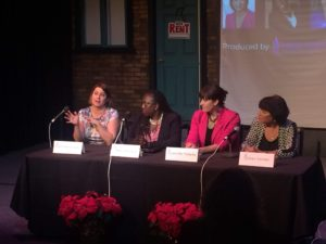 Women in America TODAY Event produced by Renee Warmack Productions - Erin Smith Aebel, Melba Pearson, Jennifer Yeagley, Fawn Germer