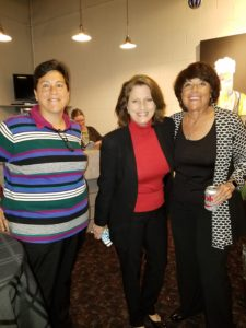 Women in America TODAY Event produced by Renee Warmack Productions - Sandra Kobelia, Renee Warmack, and Fawn Germer
