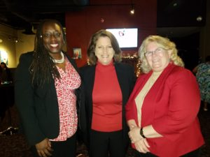 Women in America TODAY Event produced by Renee Warmack Productions - Melba Pearson, Renee Warmack, Diane Egner